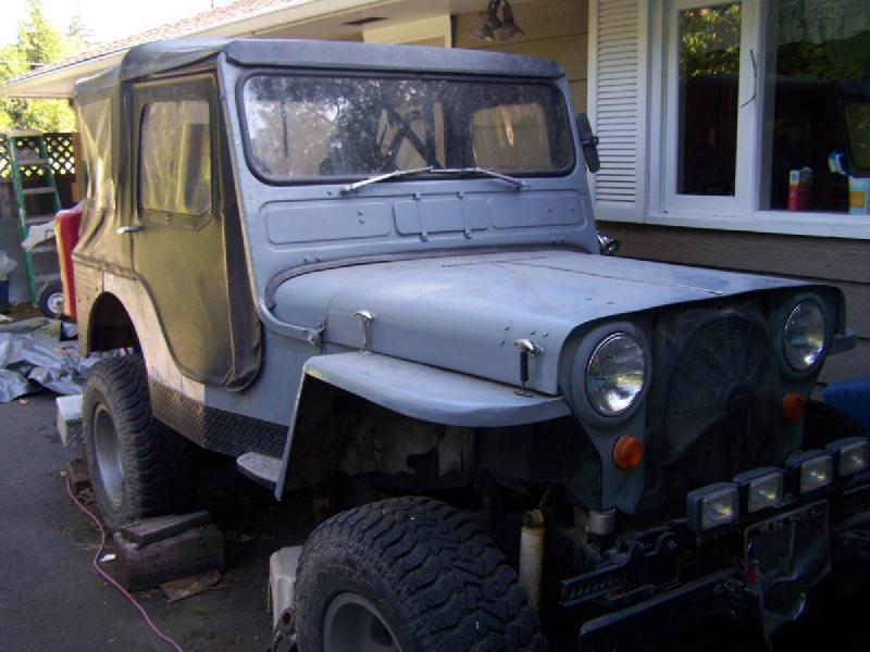 1942 Jeep Willys, Buick V6, lifted For Sale - 1