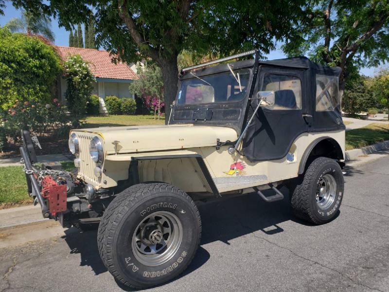 1961 Willys Jeep CJ3B, winch, Chevy 350 For Sale - 1