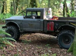 1967 Jeep M715, Chevy V8, SM420 For Sale