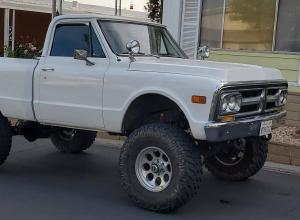 1971 GMC K10 Shortbed Pickup, ZZ4, AC, ARB/Detroit, 37s For Sale