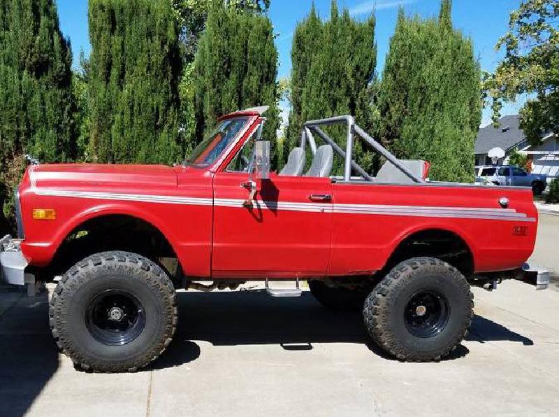 """1972 Chevy Blazer on 38s, Warn, 4.88s, 10"""" lift For Sale - 1"""
