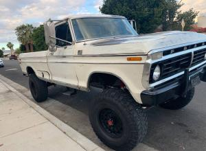 1973 Ford F-250 Pickup on 37s For Sale