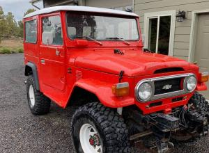 1975 Toyota Land Cruiser FJ40, V8, lockers, winch For Sale