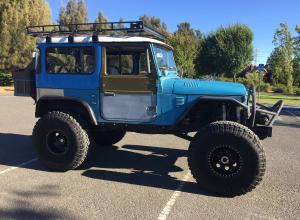 1976 Toyota Land Cruiser FJ40 on 40s, 350, locked Dynatrac D60s, SOA, Warn For Sale