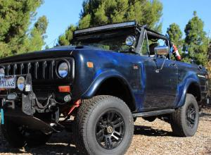 1977 International Scout II, V8, locked D44s, winch For Sale
