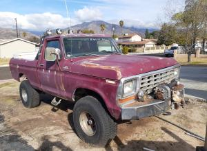 1978 Ford F150 Short Bed, 8274, V8, new 35s For Sale