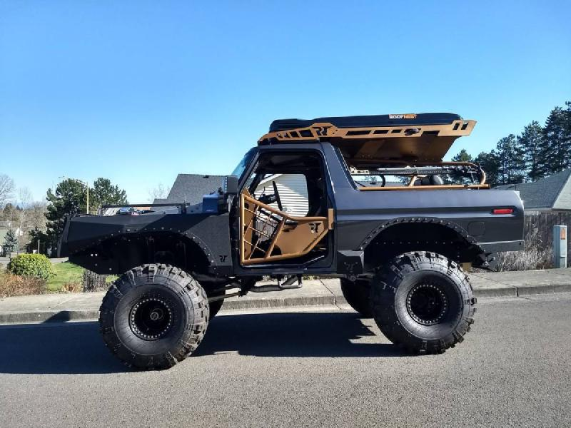 1979 Ford Bronco on 40s, 460, Roof Top Tent, Winch, C6 For Sale - 1