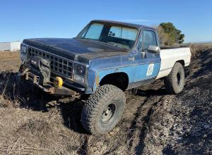 "1980 Chevrolet K20, BBC, SM465, 8274, 40"" MTRs For Sale"