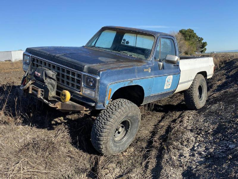 "1980 Chevrolet K20, BBC, SM465, 8274, 40"" MTRs For Sale - 1"