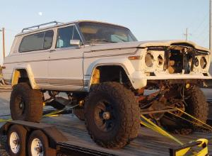 "1980 Full Size Jeep Cherokee Project - 6.0, D60s, Atlas, 40""s For Sale"