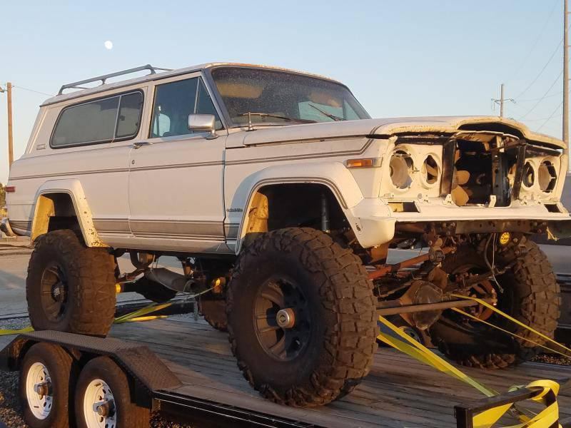 """1980 Full Size Jeep Cherokee Project - 6.0, D60s, Atlas, 40""""s For Sale - 1"""