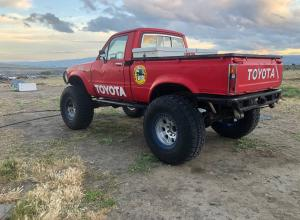 1982 Toyota Pickup, 20R, duals, 5.29s, winch, beadlocks For Sale
