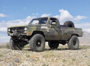 1984 Chevy M1008 CUCV on 40s, locked 1 tons, 5.33 low, diesel For Sale