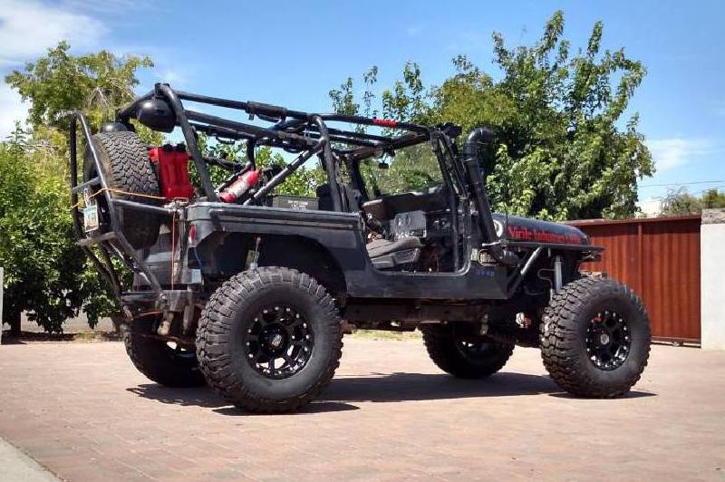 1984 Jeep CJ7, TBI 350, locked D44s, 37s For Sale - 1