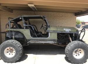 1985 Jeep CJ7, TBI V8, 1 tons, twin stick, 40s, winch For Sale