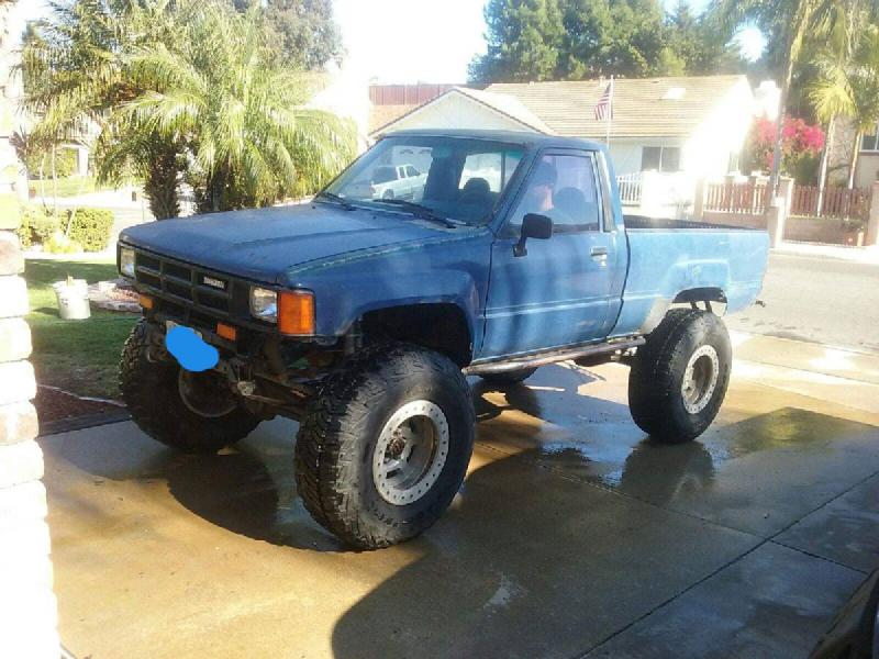 1985 Toyota Pickup on 37s, 5.29s, duals, locked For Sale - 1