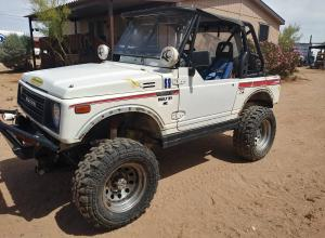 1987 Suzuki Samarai, propane, TSL SX, locked, SOA For Sale