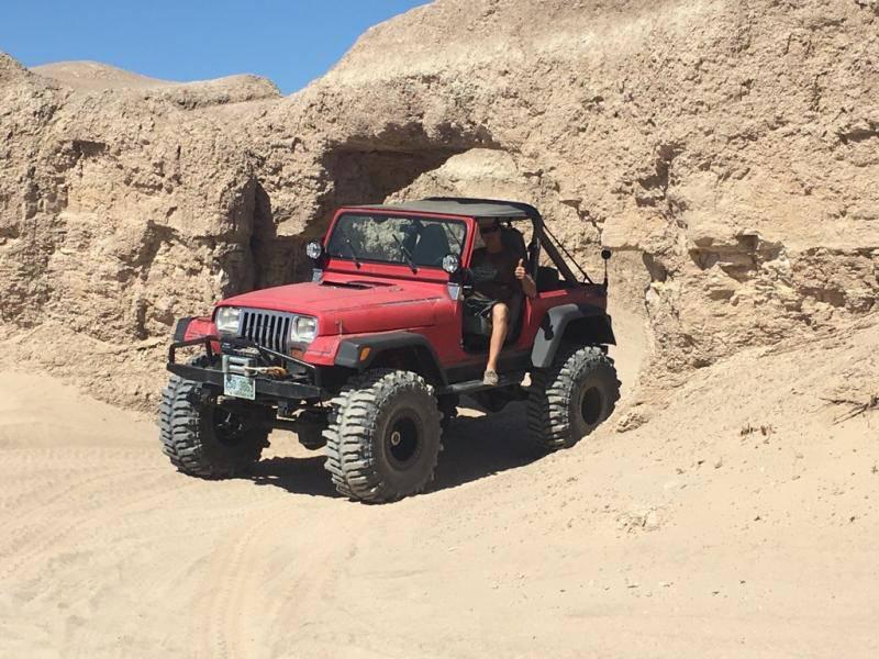 "Jeep YJ, Dana 60s, Atlas, 383, 40"" Boggers For Sale - 1"