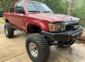1990 Toyota 4Runner, SAS, ARB lockers, triple sticks, winch For Sale