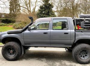 1990 Toyota Hilux Crew Cab SR5, Overland Build For Sale