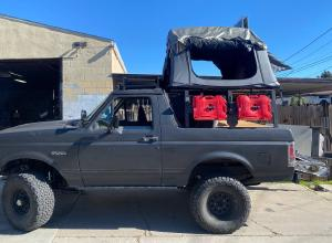 1993 Ford Bronco Expedition Rig, RT tent, 33s For Sale