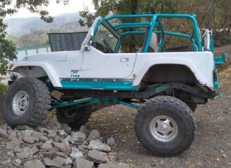 1993 Jeep Wrangler YJ, Atlas, ARBs, 37s, Warn For Sale - 1