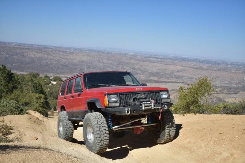 1995 Jeep Cherokee XJ, 4.7 stroker, Kings, Rock Jock 44 For Sale - 1
