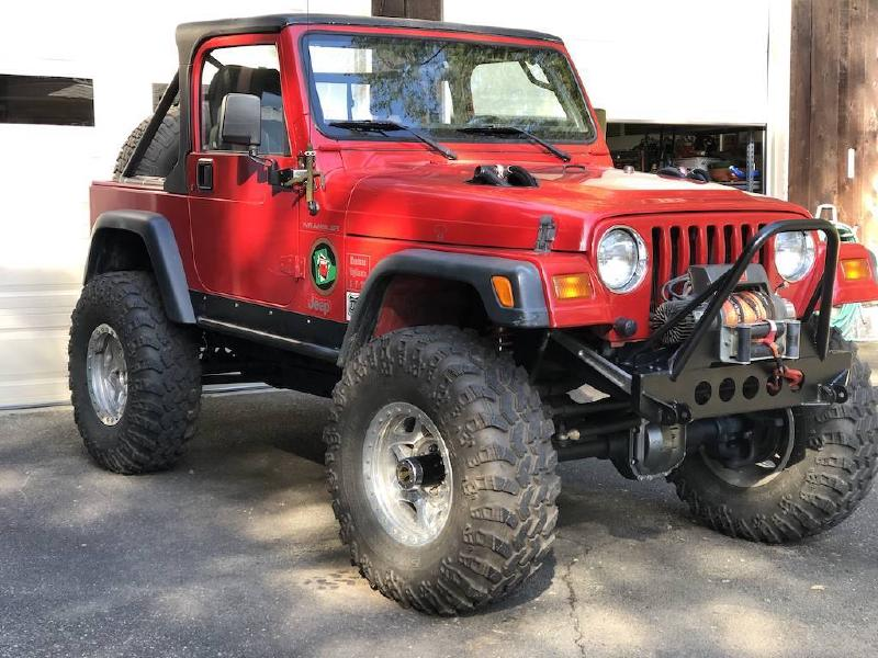 1999 Jeep Wrangler TJ, Atlas, Tera 60s, Fox COs, 37s, 76k miles For Sale - 1