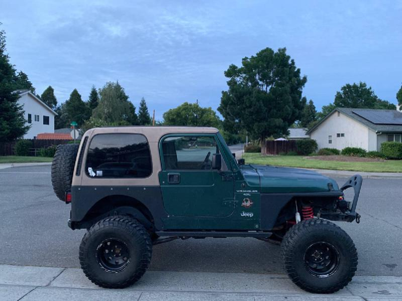 """2000 Jeep Wrangler TJ, Ox, manual, 6"""" lift For Sale - 1"""