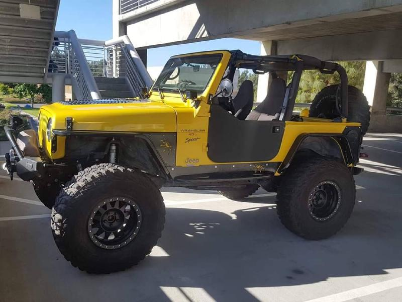 2000 Jeep Wrangler TJ Sport, locked Currie D44/D60, 30k miles engine For Sale - 1