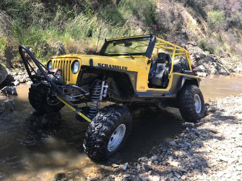 "2004 Jeep LJ Wrangler Unlimited, Currie D44/D60, 37"" Iroks, Long-Arm, 67k miles For Sale - 1"
