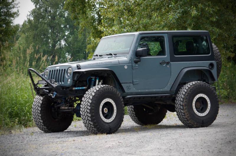 2014 Jeep Wrangler JK Rubicon, 40s, E-Locker D60s, Kings, Armored For Sale - 1