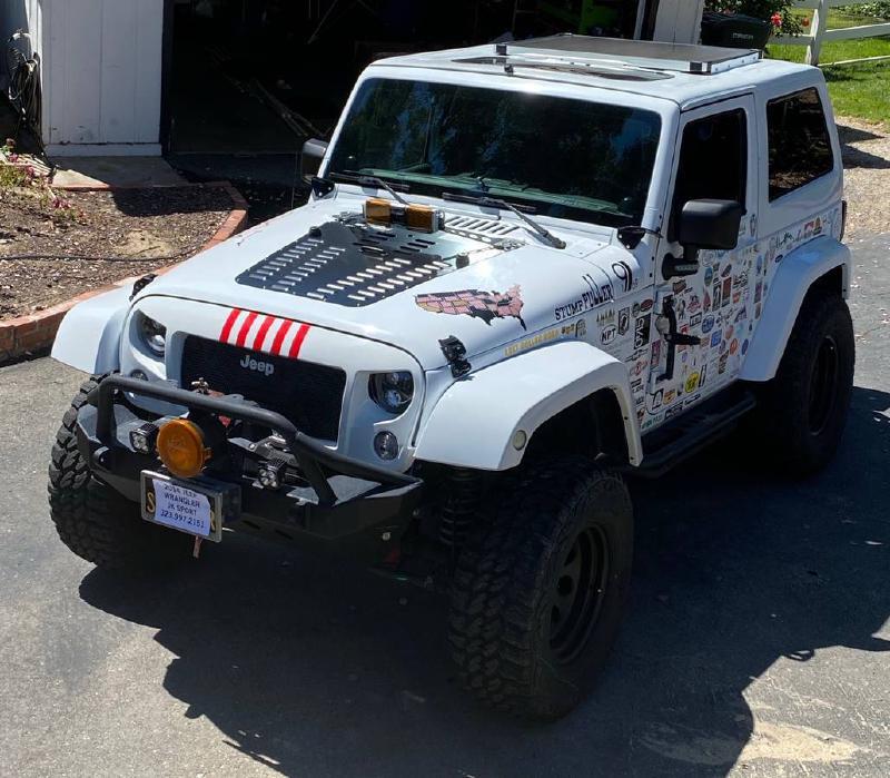 2014 Jeep Wrangler JK, locked, winch, trailer, fridge For Sale - 1