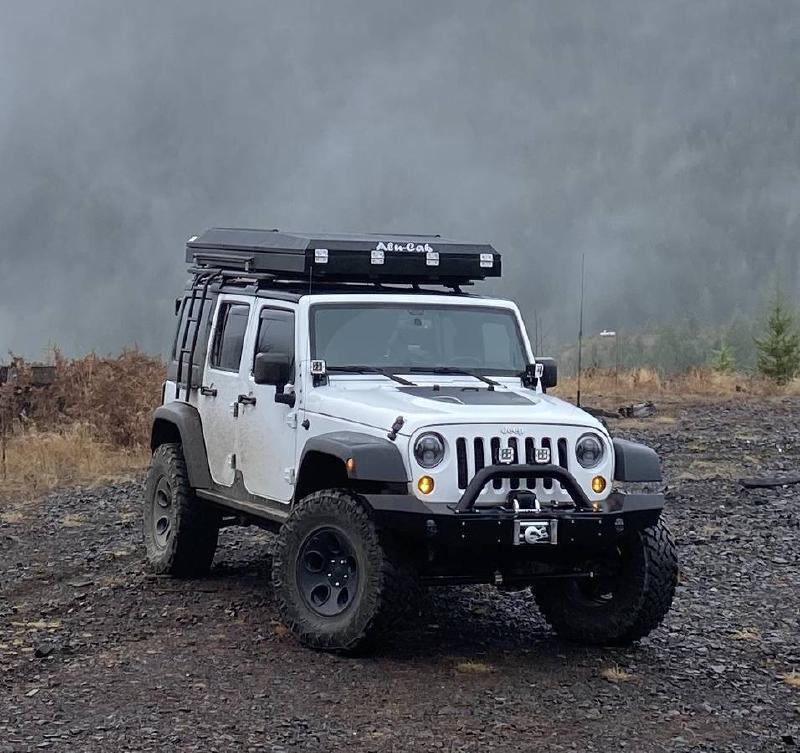 2015 Jeep Wrangler JK Unlimited, RTT, 35s, winch, RE Lift For Sale - 1