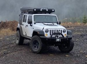 2015 Jeep Wrangler JK Unlimited, RTT, 35s, winch, RE Lift For Sale